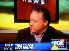Freedom Hill new Owner Tom Celani live on Fox 2.