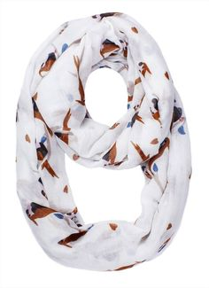 Shop the latest white scarves on gonoise. http://gonoise.com/fashion-accessories/infinity-scarves.html #scarves #accessories #gonoise