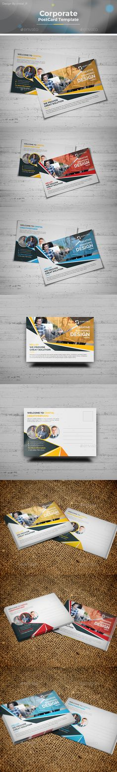 Postcard Specifications, USPS Postal Regulations \ Requirements - postcard template