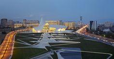 Cultureel centrum Bakoe van Zaha Hadid geopend