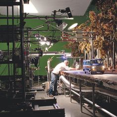 The set for ParaNorman