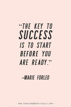 Inspiring Quotes from Powerful Women Entrepreneurs on CreatingBeautiful. - Inspiring Quotes from Powerful Women Entrepreneurs on CreatingBeautiful. Inspiring Quotes from Powerful Women Entrepreneurs on CreatingBeau. Marie Forleo, Some Inspirational Quotes, Inspiring Quotes About Life, Quotes Positive, Inspiring Quotes For Women, Inspirational Quotes For Entrepreneurs, Successful Women Quotes, Motivational Quotes For Women, Cute Quotes About Happiness