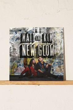 Matt And Kim - New Glow LP