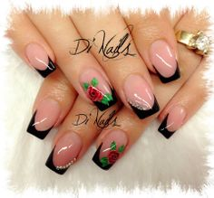 Long Nail Designs, Different Nail Designs, Colorful Nail Designs, Nail Art Designs, Gorgeous Nails, Perfect Nails, Pretty Nails, Dip Gel Nails, Nail Manicure
