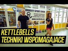 Ćwiczenia Kettlebell - Techniki wspomagające, wykroki - YouTube