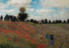 Claude Monet - Poppies at Argenteuil, 1873