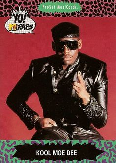 Kool Moe Dee (born Mohandas Dewese), hip-hop MC and member of the old school hip-hop group the Treacherous Three. He performed his freestyle onstage roast of old school party rapper Busy Bee Starski, a performance frequently cited as a pivotal moment in t 80s Hip Hop, Hip Hop Rap, Love N Hip Hop, Hip Hop And R&b, I Love Music, Good Music, Hiphop, New School Hip Hop, History Of Hip Hop