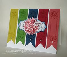 Tone on Tone Stamping Featuring New Stampin' Up! In Colors
