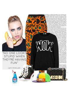 """Wow!  Moschino Fun"" by katiethomas-2 ❤ liked on Polyvore featuring By Terry, Moschino and Moschino Cheap & Chic"