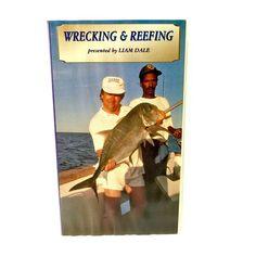 Wrecking & Reefing Vhs Video Cassette Tape Fishing British Waters Liam Dale vgc Sea Fishing, Fishing Boats, Dvds For Sale, John Waters, Cassette Tape, British, Baseball Cards, Amp