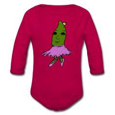 Spreadshirt Babybody Gurkenkönigin