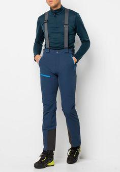 Die richtige Hose alpine Gipfeltouren? Unsere ACTIVATE PRO PANTS! Wir haben die Softshellhose zus... #OTTO #JACKWOLFSKIN Hosen #Sale #Herren Jack Wolfskin Outdoorhose ACTIVATE PRO PANTS M blau, schwarz | 04060477484440 #mode #modeonlinemarkt #mode_online #mensfashion Jack Wolfskin, Mode Online, Parachute Pants, Indigo, Winter, Fashion, Trousers, Blue, Black