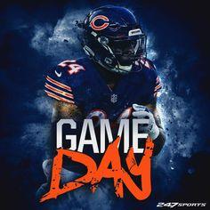 Jordan Howard, RB Nfl Chicago Bears, Bears Football, Football Helmets, Cincinnati Bengals, Indianapolis Colts, Chicago Bears Wallpaper, Nfl Cheerleaders, Detroit Lions, Fantasy Football