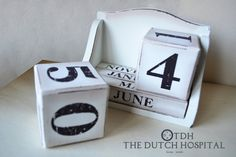 2016 Calendar – Wood Block Perpetual Calendar – Desk Calendar – Rustic Country Style Wooden Blocks – Shabby Chic Calendar Bricks by TheDutchHospital on Etsy https://www.etsy.com/listing/249495059/2016-calendar-wood-block-perpetual