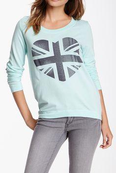 South Parade Susie British Heart Sweatshirt