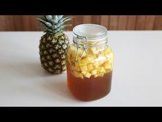 파인애플식초만들기(How to make pineapple vinegar)_ by handycook Mason Jars, Youtube, How To Make, Food, Eten, Canning Jars, Meals, Glass Jars