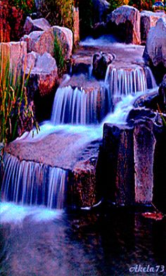 Great collection of animated gif pictures for your mobile phone with display resolution Beautiful Nature Wallpaper, Beautiful Gif, Beautiful Landscapes, Beautiful Scenery Pictures, Gif Photo, Hd Picture, Beautiful Waterfalls, Amazing Nature, Belle Photo