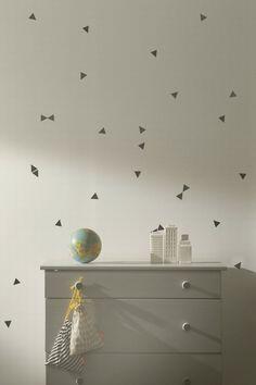 Wall Stickers - Mini Triangles Black