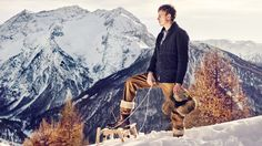 A Sunny and Snowy Winter. Style and Story By Virginia Galateri.
