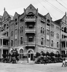 The Driskill Hotel, Austin - said to be haunted by the hotel's builder, Driskill. People can smell his cigar smoke and believe that he turns lights off and on. Also reported to haunt the hotel is the daughter of a senator who fell while playing on the hotel's stairs. People have reported seeing the ghost of a young girl in several areas of the hotel carrying a ball.