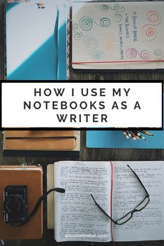 Notebook uses - How I use my notebooks as a writer & creative — A Bookish Baker Diary Writing, Book Writing Tips, Writing Notebook, Writing Words, My Notebook, Fiction Writing, Writing Prompts, Writing Workshop, Writing Help