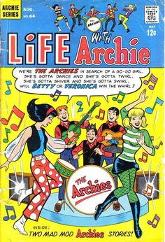 Life With Archie 64, Archie Comic Publications, Inc.  https://www.pinterest.com/citygirlpideas/archie/