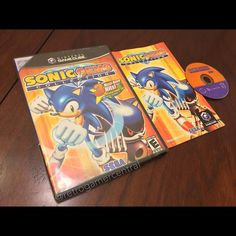 retrogamercentral: A great compilation and easy way to play Sonic CD and the Game Gear titles. Too bad Knuckles' Chaotix wasn't included. #rcediscweek #soniccd #retrocollective #rceurope #sonicthehedgehog #90s #sonicgemscollection #sega #gamecube #nintendo #ninstagram #igersnintendo #retrolife #retrocoalition #gamegear #gamegear #microobbit