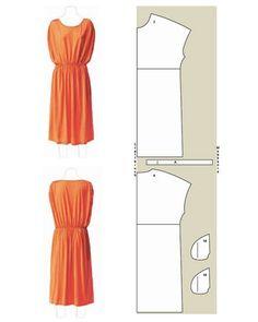 Luftige Kleider selber nähen: Schnitte und Anleitungen Really cute women's dress patterns- they are all in German, better prepare my translator-