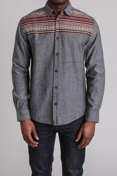 Soul Star Inca 1 Woven Shirt