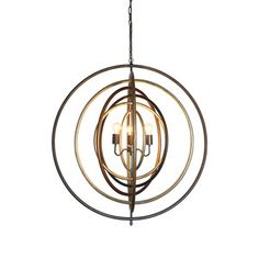 Equinox Ringed Pendant Light