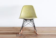 Eames RSR Rocking Chair in Celery by castandcrew