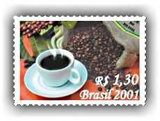 Brazil's Coffee-Scented Stamp - The World's Smelliest Postage Stamps - http://www.stampsofdistinction.com