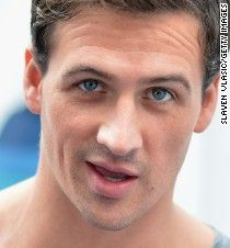 """Protesters rushed the stage after Ryan Lochte's first performance on """"Dancing…"""