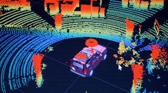 Self-driving cars with laser sight.