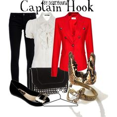 Captain Hook, created by lalakay on Polyvore