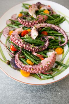 Octopus, Green Beans & Potato Salad - Art de Fête
