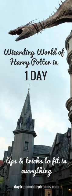 Wizarding world of Harry Potter, Hogsmead and Diagon Alley Tips and Tricks for One day
