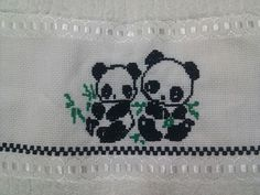 Panda - Cross stitch