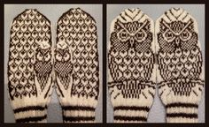 Bilderesultat for strikke diagram Knitted Mittens Pattern, Knitted Gloves, Knitting Socks, Knitting Charts, Knitting Patterns, Fair Isle Knitting, Yarn Crafts, Ideas, Socks