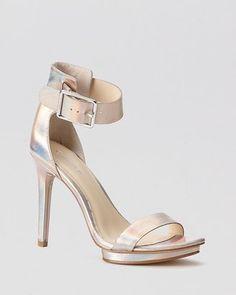 4ae0089f44d1 Calvin Klein Platform Sandals Vivian High Heel Calvin Klein Beautiful Shoes