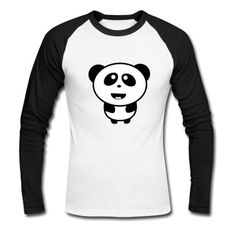 Tee shirt manches longues Panda bébé mignon #cloth #cute #kids# #funny #hipster #nerd #geek #awesome #gift #shop  Lovely!