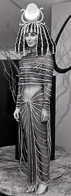 Bob Mackie - Costumier - Tenues de Scène - Cher 'Cléopâtre'