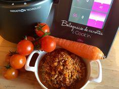 Bolognaise de carottes #icookin