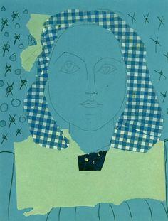 hipinuff:  Pablo Picasso (Spanish: 1881 – 1973), Portrait de...