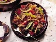Stir-Fried Beef and Vegetables
