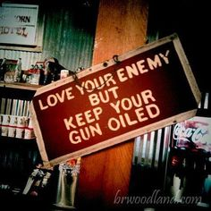 I won't love my enemy but I won't wish ill willing him either. But if he comes near my family again, I'll kill him!