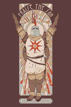 Camiseta Praise The Sun - Chico Rei Dark Souls 2, Dark Souls Characters, Dark Souls Solaire, Soul Saga, Praise The Sun, Fire Art, Bloodborne, Cellphone Wallpaper, Fantasy Artwork