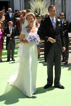 HRH Princess Carolina de Borbon Parma - Princess Carolina Church Wedding With Mr Albert Brenninkmeijer