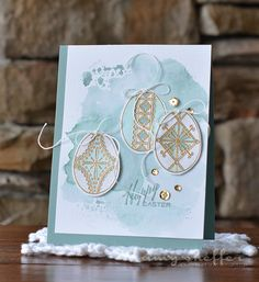 Happy Easter Card by Amy Sheffer for Papertrey Ink (February 2015)