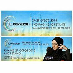 Repost from @rtm_malaysia -  Temui kami di pameran #RTMMobile sempena  #KLConverge2015 mulai hari ini 27 hingga 29 Ogos 2015 9.00 pagi hingga 5.00 petang bertempat di Pusat Konvensyen Kuala Lumpur (KLCC). Nantikan kemunculan khas Dato' @ctdk pukul 4.00 petang ini.  Masuk  PERCUMA